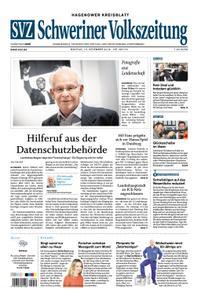 Schweriner Volkszeitung Hagenower Kreisblatt - 10. Dezember 2018