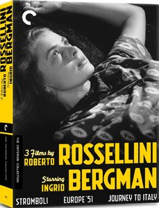 3 Films by Roberto Rossellini Starring Ingrid Bergman [2013] [The Criterion Collection ##672-675]