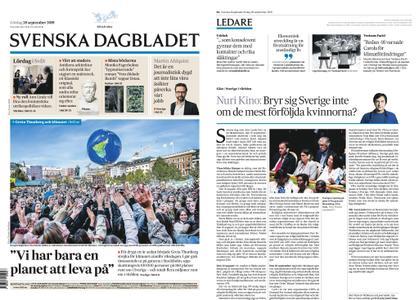 Svenska Dagbladet – 28 september 2019