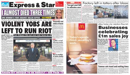 Express and Star Sandwell Edition – January 03, 2019