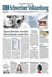 Schweriner Volkszeitung Hagenower Kreisblatt - 08. November 2019