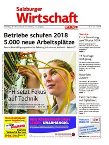 Salzburger Wirtschaft – 25. Januar 2019