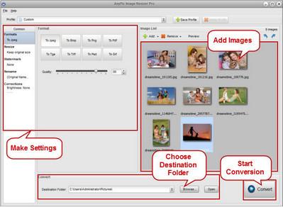 AnyPic Image Resizer Pro 1.2.8 build 2903