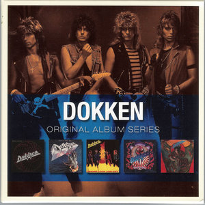 Original Album Series: Dokken (2009) [5CD Box Set, Rhino 8122 79833 9]
