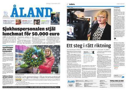 Ålandstidningen – 02 december 2017