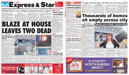 Express and Star City Edition – April 22, 2019
