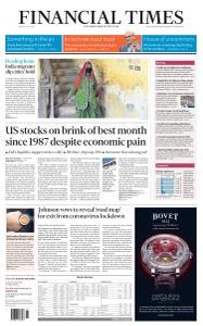 Financial Times UK - May 1, 2020