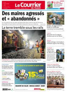 Le Courrier de l'Ouest Angers – 13 août 2020