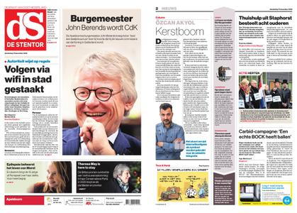 De Stentor - Apeldoorn – 13 december 2018