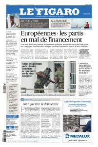 Le Figaro du Mardi 23 Avril 2019