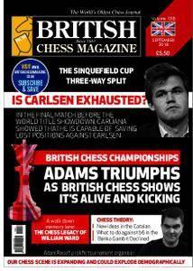 British Chess Magazine – September 2018