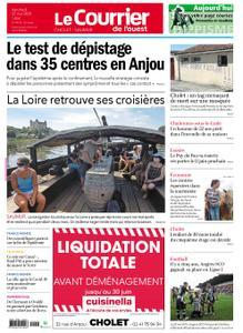 Le Courrier de l'Ouest Cholet – 22 mai 2020