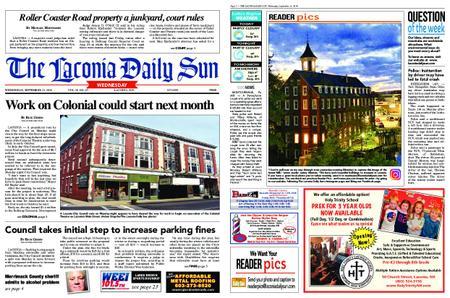 The Laconia Daily Sun – September 11, 2019