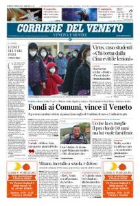 Corriere del Veneto Venezia e Mestre – 31 gennaio 2020