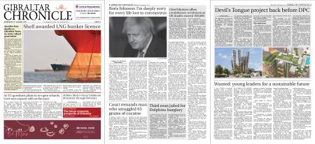 Gibraltar Chronicle – 27 January 2021
