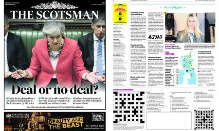 The Scotsman – March 13, 2019