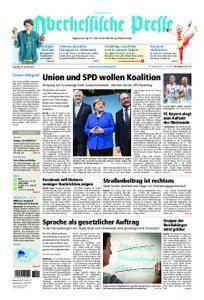 Oberhessische Presse Hinterland - 13. Januar 2018