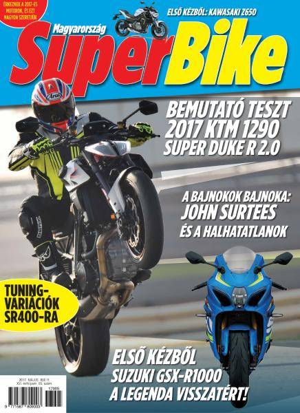 Superbike Hungary - Május 2017