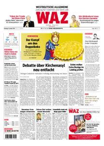 WAZ Westdeutsche Allgemeine Zeitung Oberhausen-Sterkrade - 08. Januar 2019