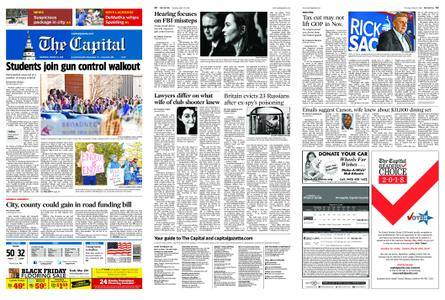The Capital – March 15, 2018