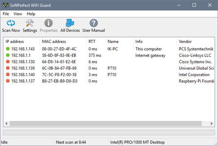 SoftPerfect WiFi Guard 2.1.1 Multilingual