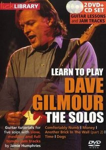 Learn to play Dave Gilmour - The Solos