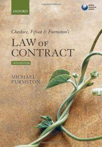 Cheshire, Fifoot and Furmston's Law of Contract (Repost)