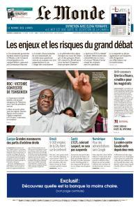 Le Monde du Vendredi 11 Janvier 2019