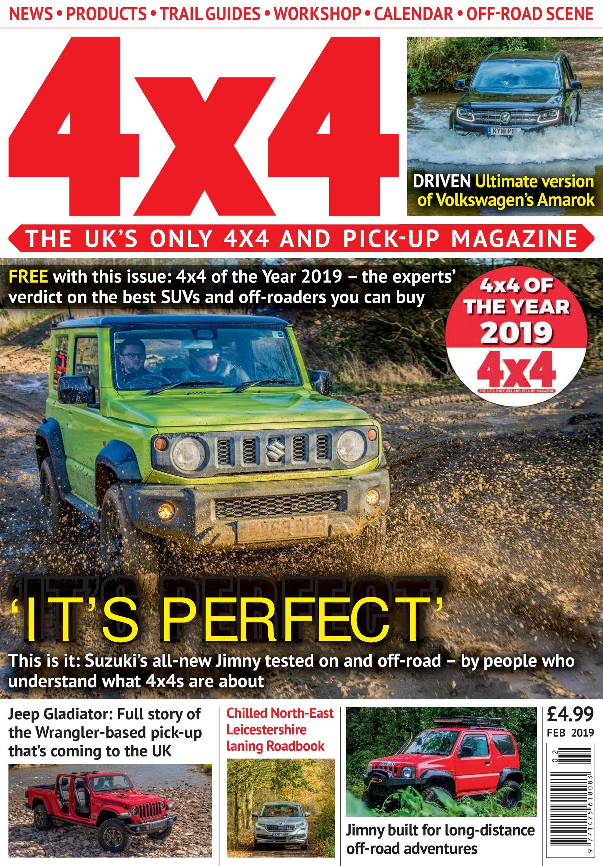 4x4 Magazine UK – February 2019