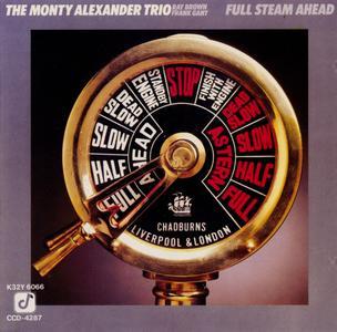 Monty Alexander - Full Steam Ahead (1985) {King Japan K32Y6066 rel 1986}