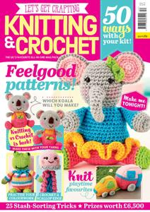 Let's Get Crafting Knitting & Crochet – August 2019
