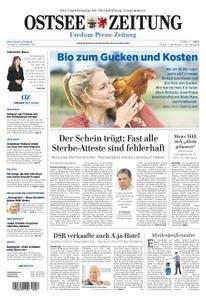 Ostsee Zeitung Wolgast - 22. September 2017