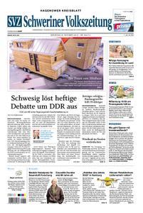 Schweriner Volkszeitung Hagenower Kreisblatt - 08. Oktober 2019
