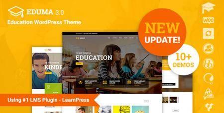 ThemeForest - Eduma v3.4.2 - Education WordPress Theme | Education WP - 14058034 - NULLED