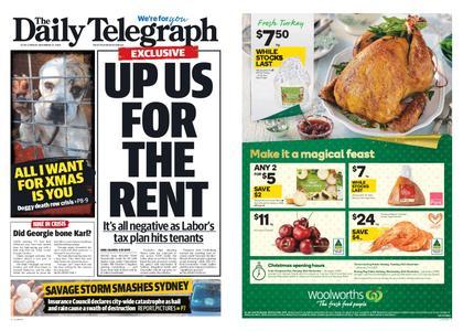 The Daily Telegraph (Sydney) – December 21, 2018