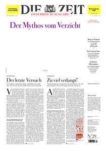 Die Zeit Österreich - 11. Juli 2019