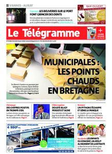 Le Télégramme Auray – 26 juin 2020