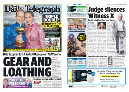 The Daily Telegraph (Sydney) – November 07, 2018