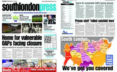 South London Press – February 27, 2018