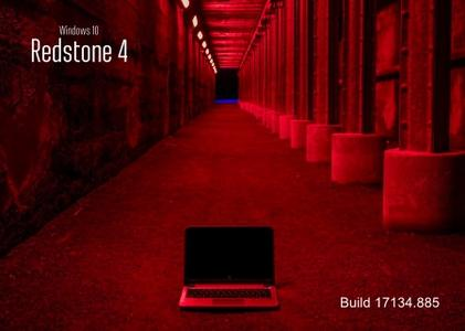 Windows 10 version 1803 Redstone 4 Build 17134.885