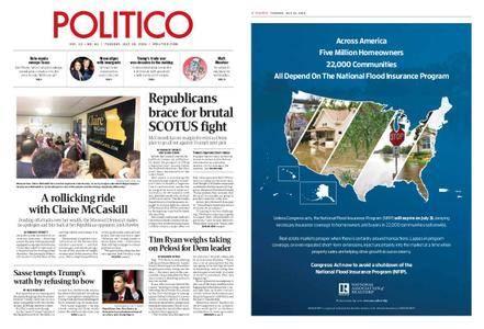 Politico – July 10, 2018