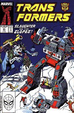 Transformers Issue #51 Vol. 1