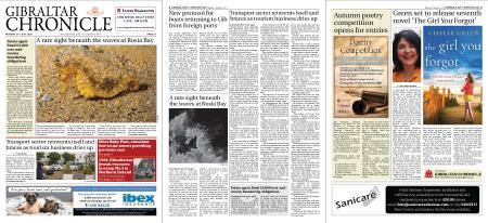 Gibraltar Chronicle – 27 July 2020