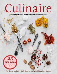 Culinaire Magazine - November 2020