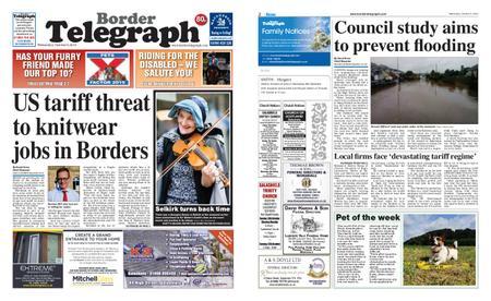 Border Telegraph – October 09, 2019