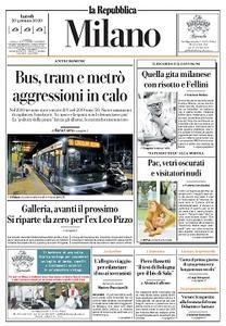 la Repubblica Milano - 20 Gennaio 2020