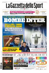 La Gazzetta dello Sport Roma – 29 luglio 2020