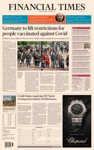 Financial Times Middle East - 4 May 2021