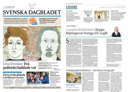 Svenska Dagbladet – 11 oktober 2019