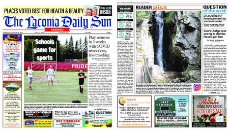 The Laconia Daily Sun – August 29, 2020